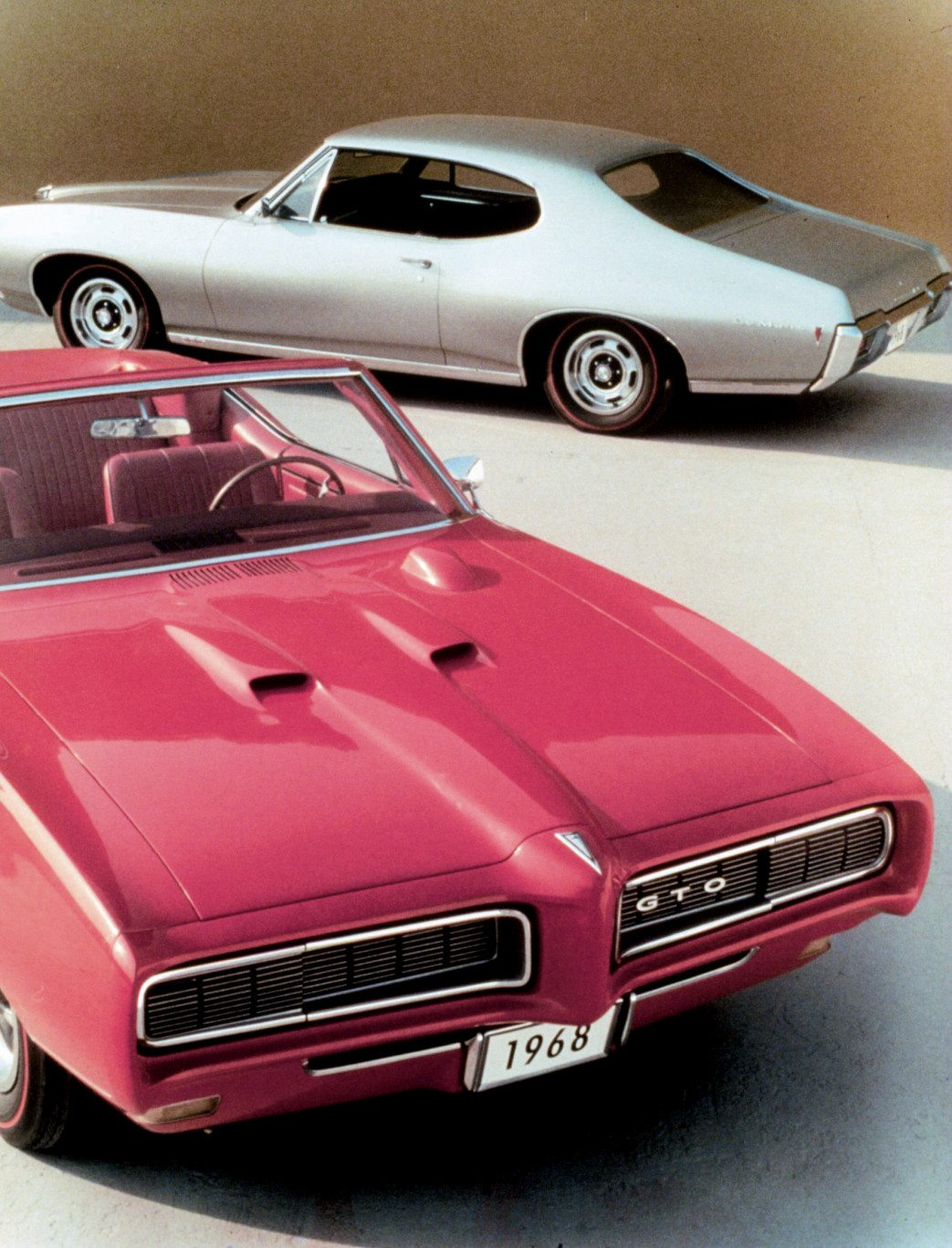1968 Pontiac GTO Convertible and Hardtop