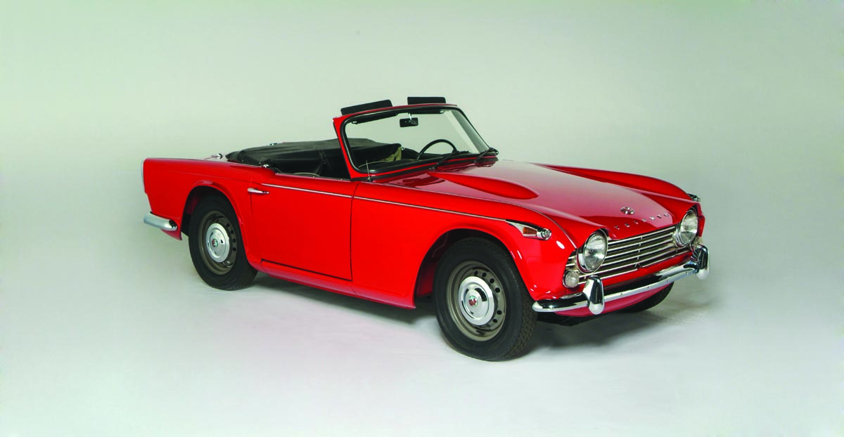 1968 Triumph Tr4a Roadster Heacock Classic Insurance