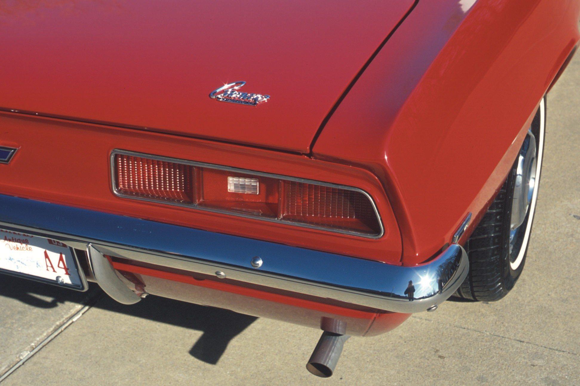 1969 Chevy Camaro 307 Rear Tail
