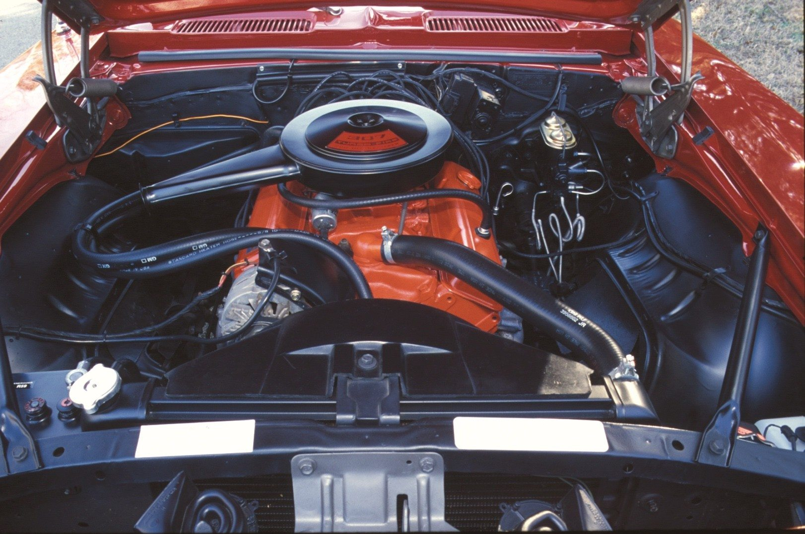 1969 Chevy Camaro 307 V8 Engine