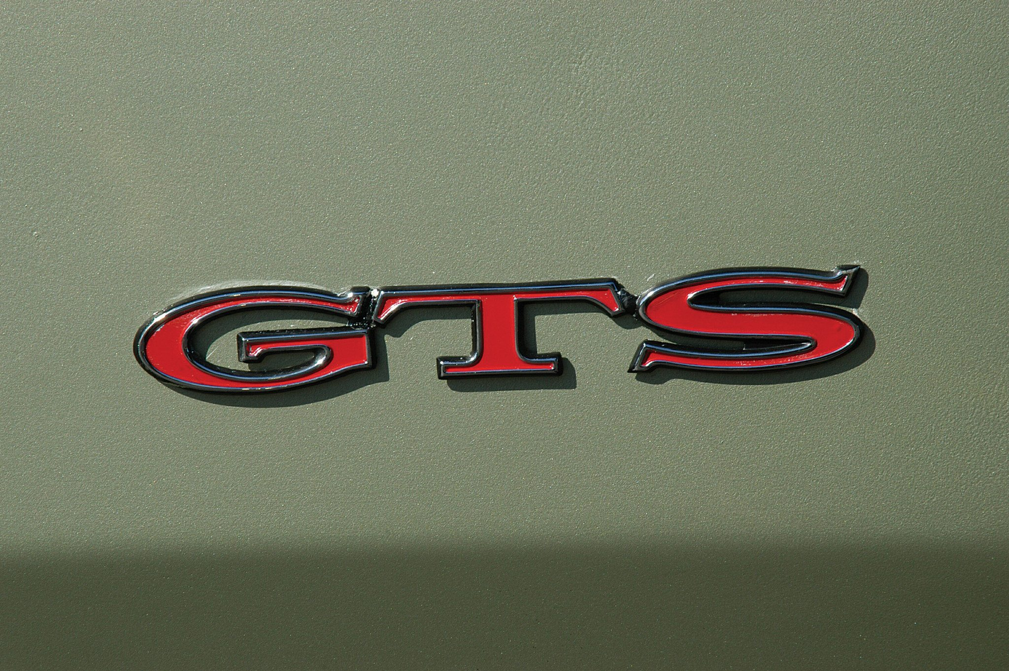 1969 Dodge Dart 340 GTS Badge