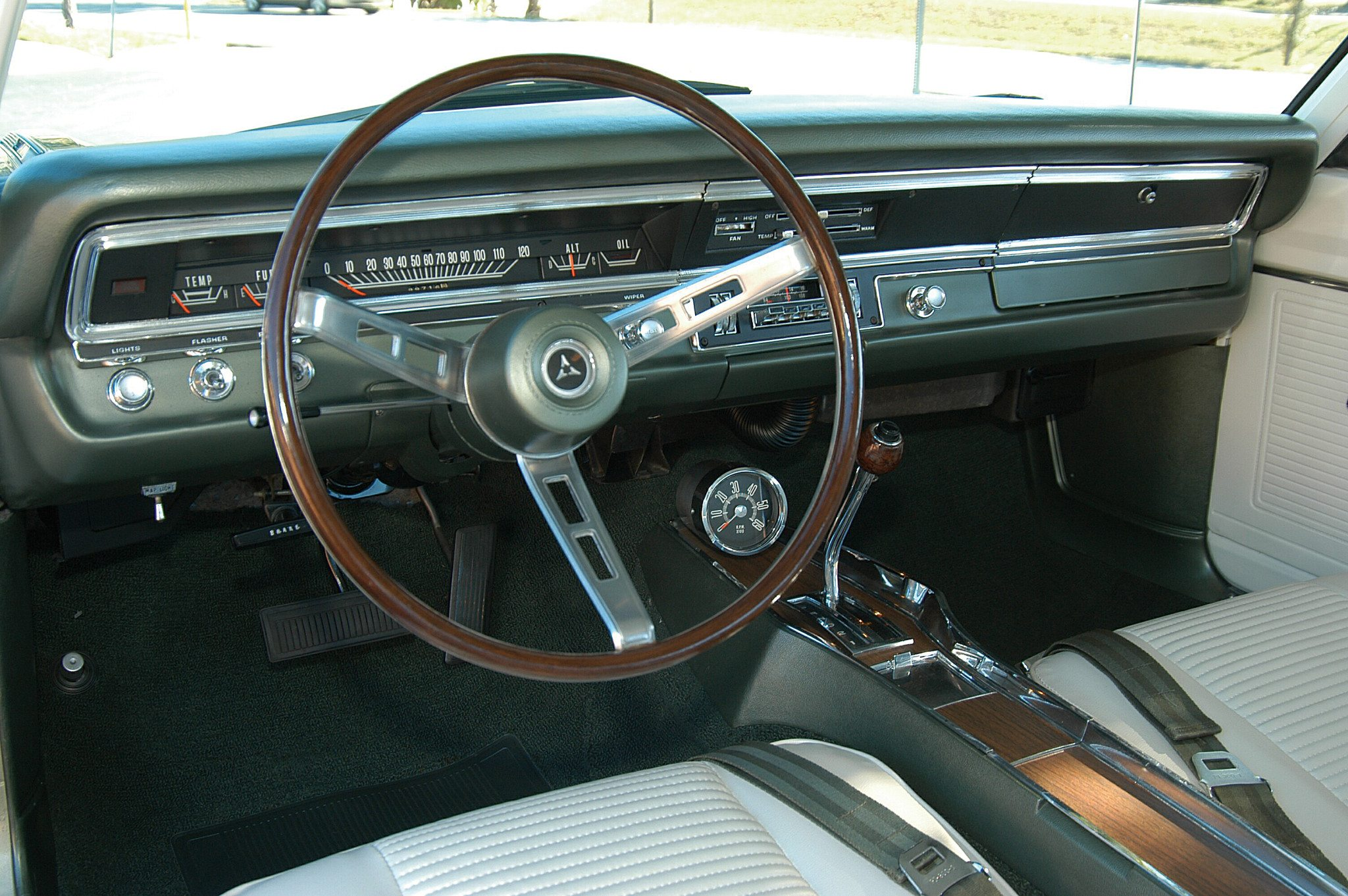 1969 Dodge Dart 340 GTS Dashboard