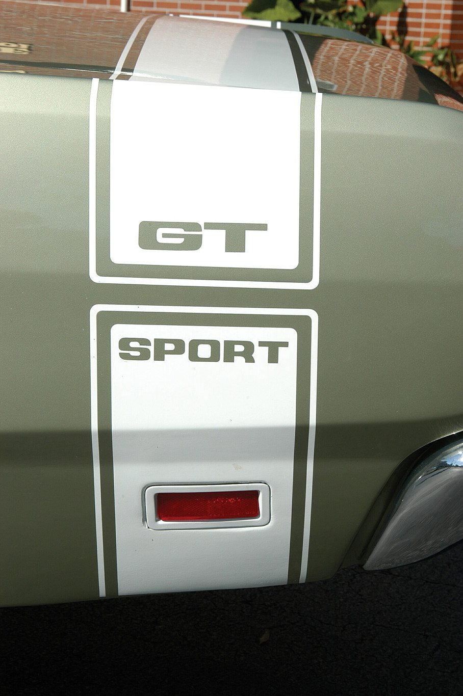 1969 Dodge Dart 340 GTS GT Sport Graphic