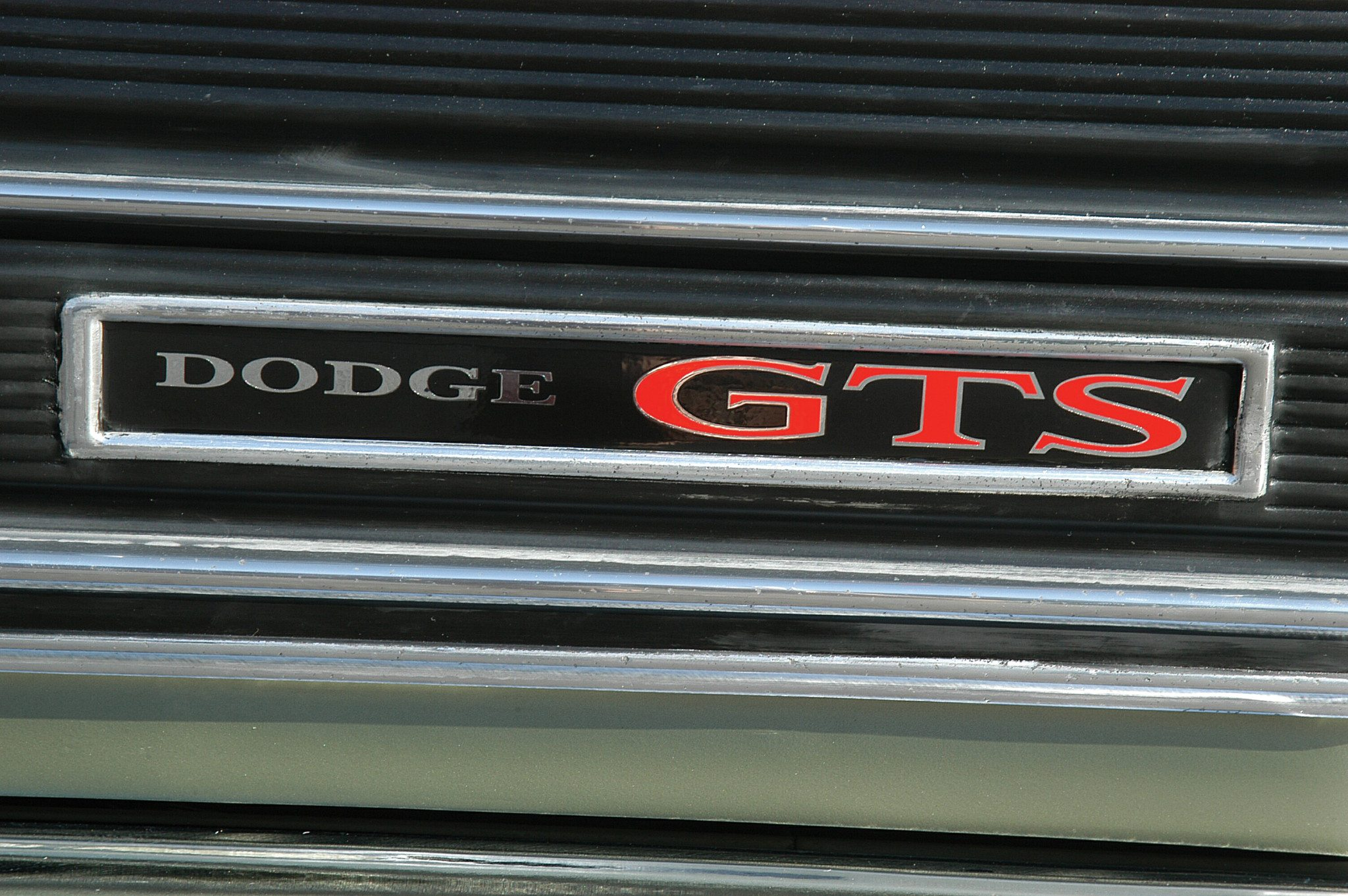 1969 Dodge Dart 340 GTS Grill Badge