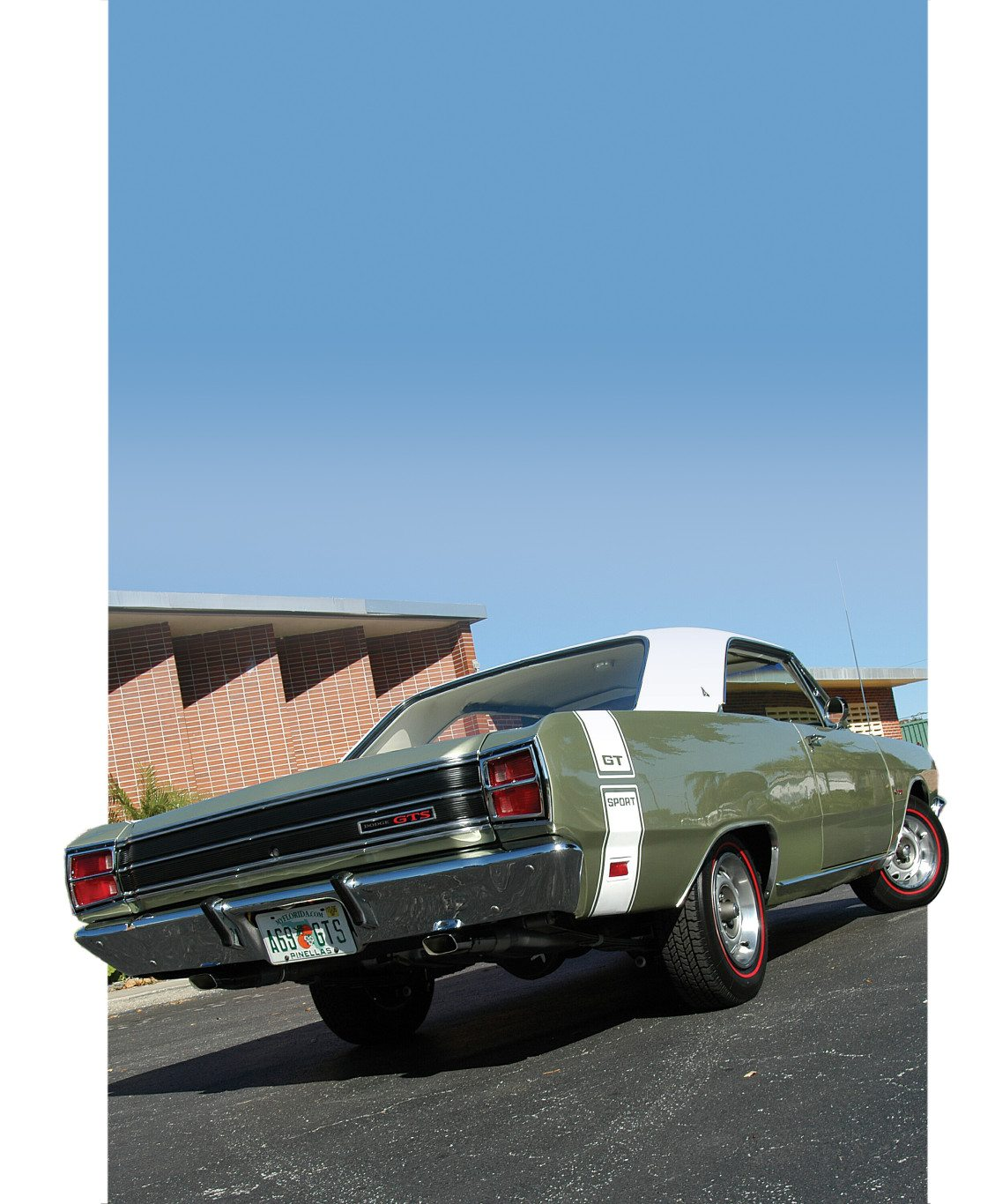 1969 Dodge Dart 340 GTS Hardtop Rear