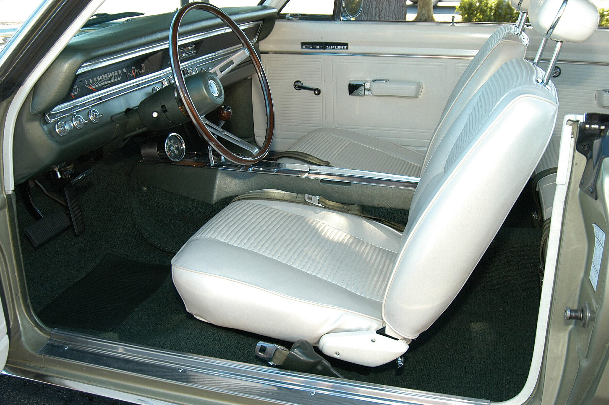 1969 Dodge Dart 340 GTS Interior
