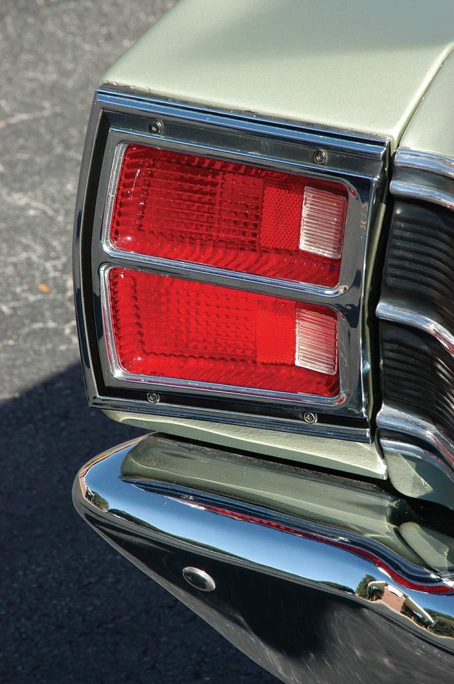 1969 Dodge Dart 340 GTS Rear Light