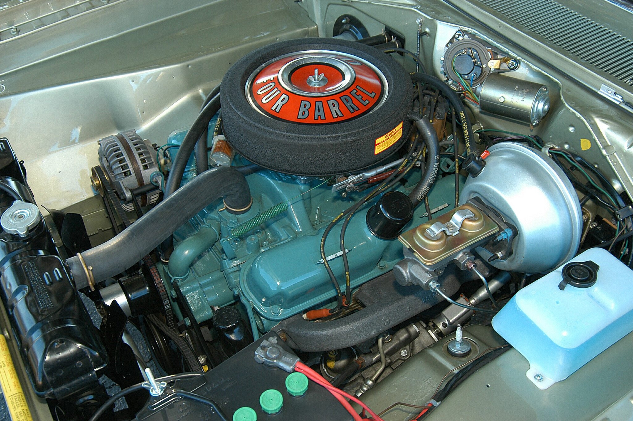 1969 Dodge Dart 340 GTS V8 Engine