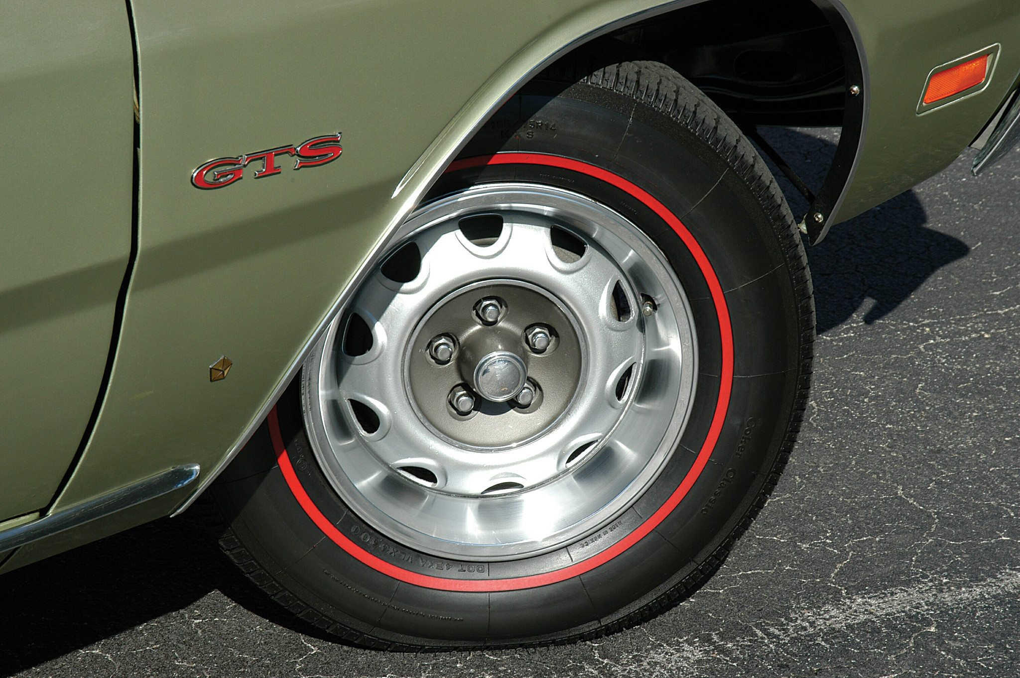 1969 Dodge Dart 340 GTS Wheel