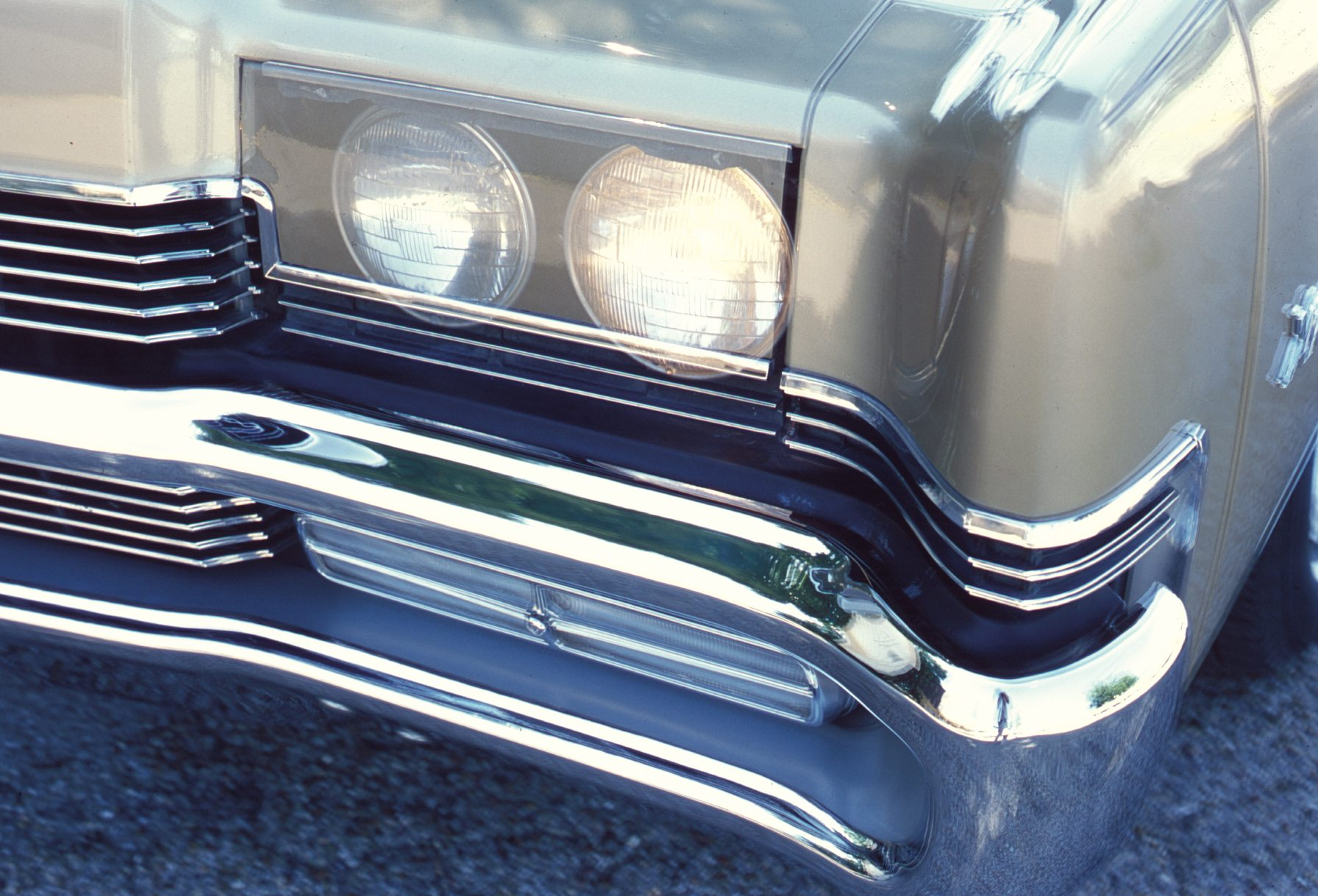 1969 Mercury Marauder Headlight Close Up