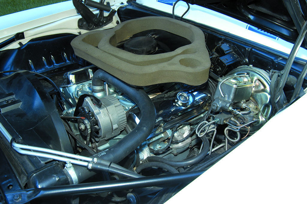 1969 Pontiac Trans Am 400 cu in Engine