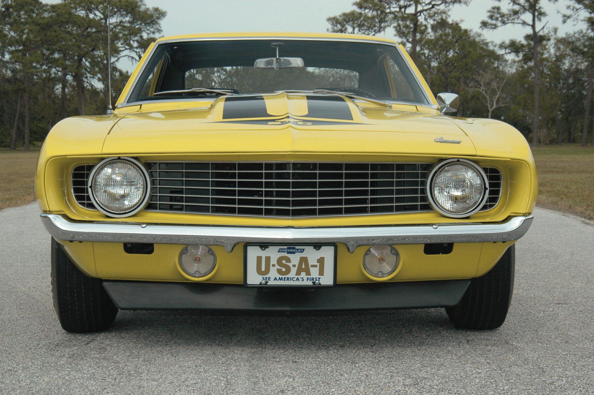 1969 Yenko Camaro Syc 427 Heacock Classic Insurance