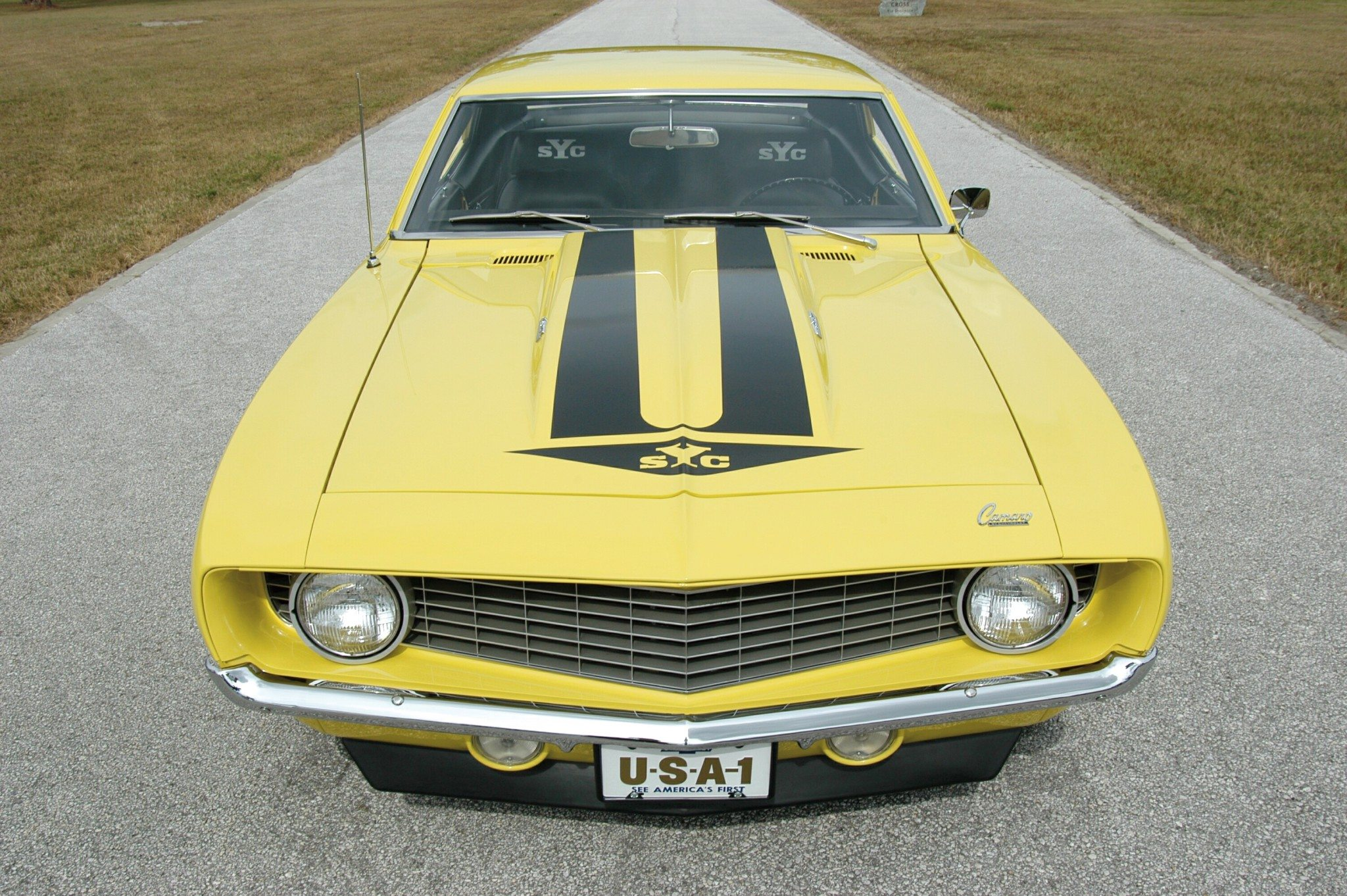 1969 Super Yenko Camaro High Front View