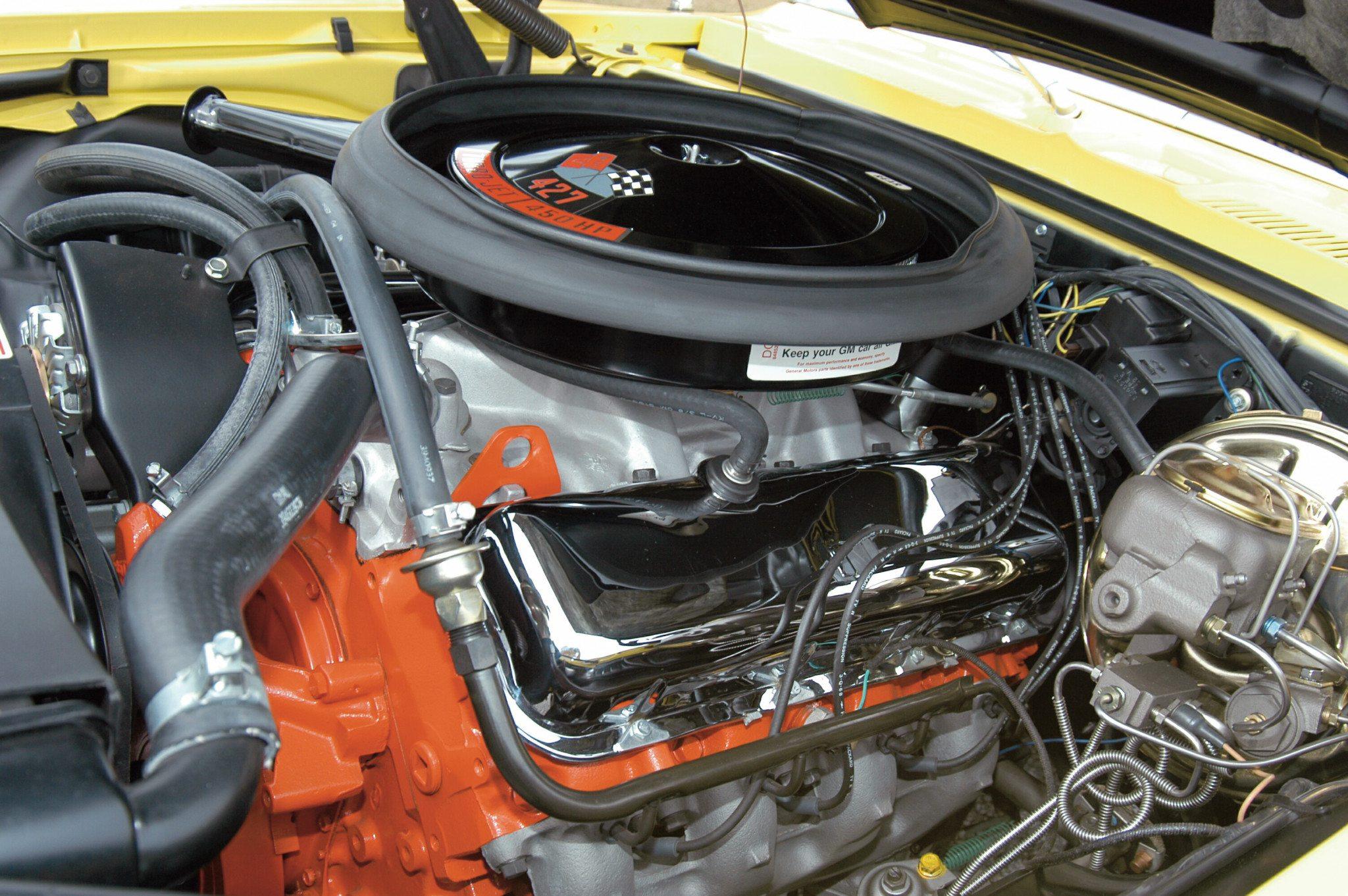 1969 Yenko Camaro L72 427 V8 Engine