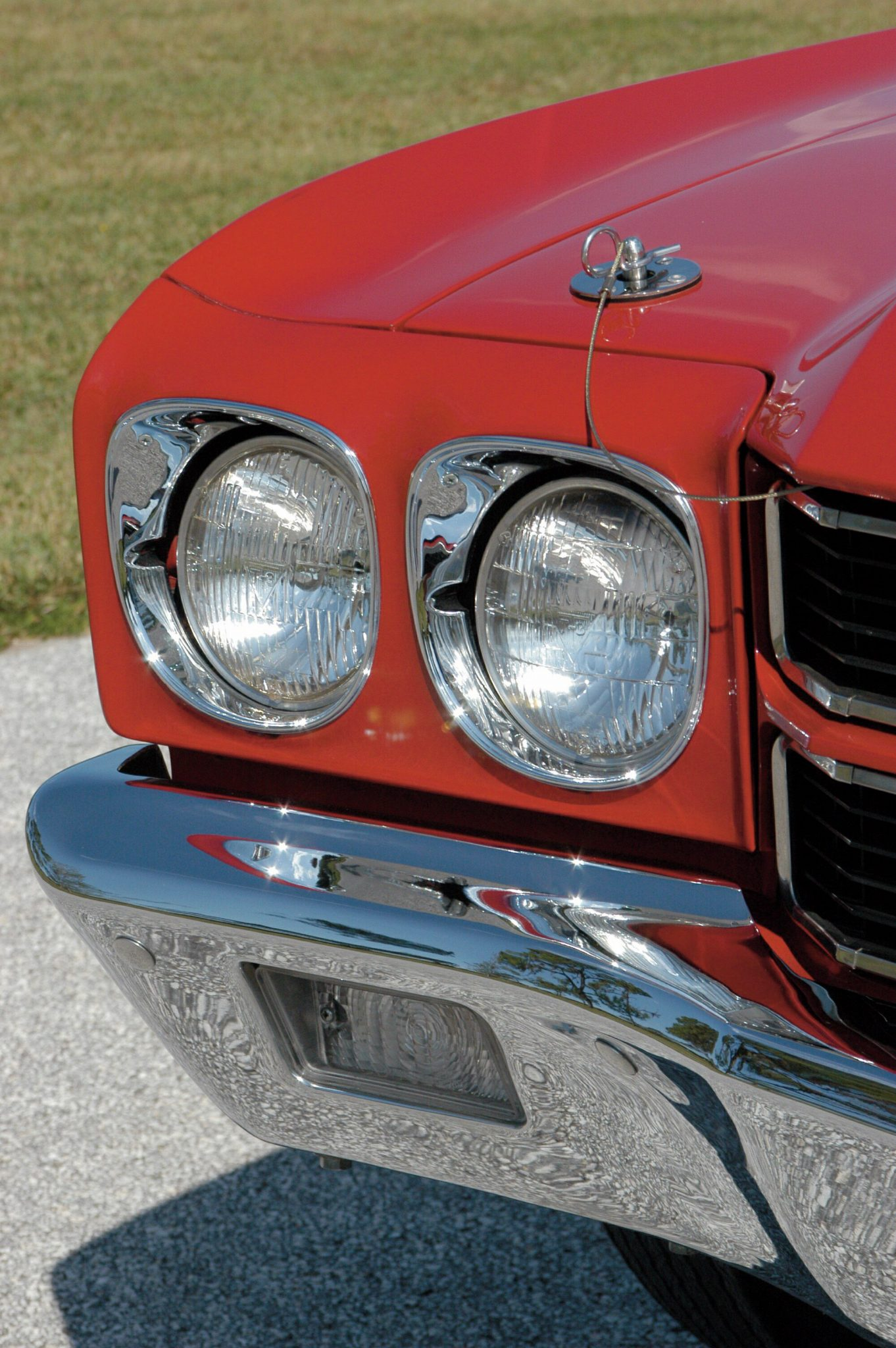 1970 Chevelle LS6 Headlamp Detail