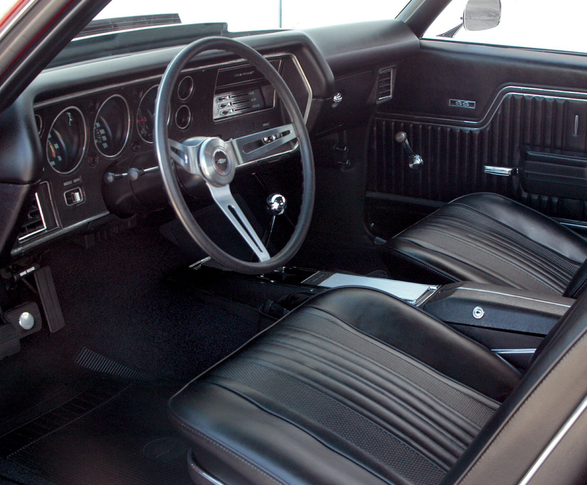 1970 Chevelle LS6 Interior