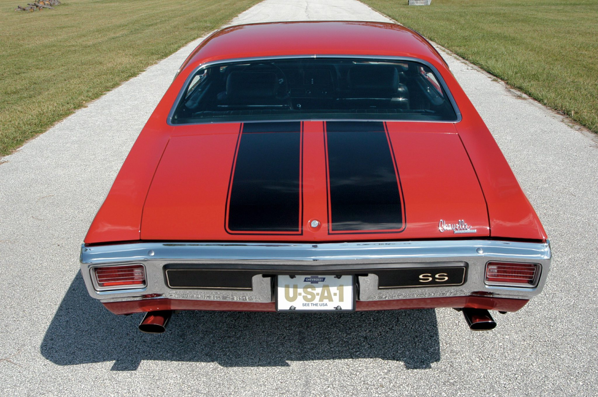 1970 Chevelle LS6 Rear