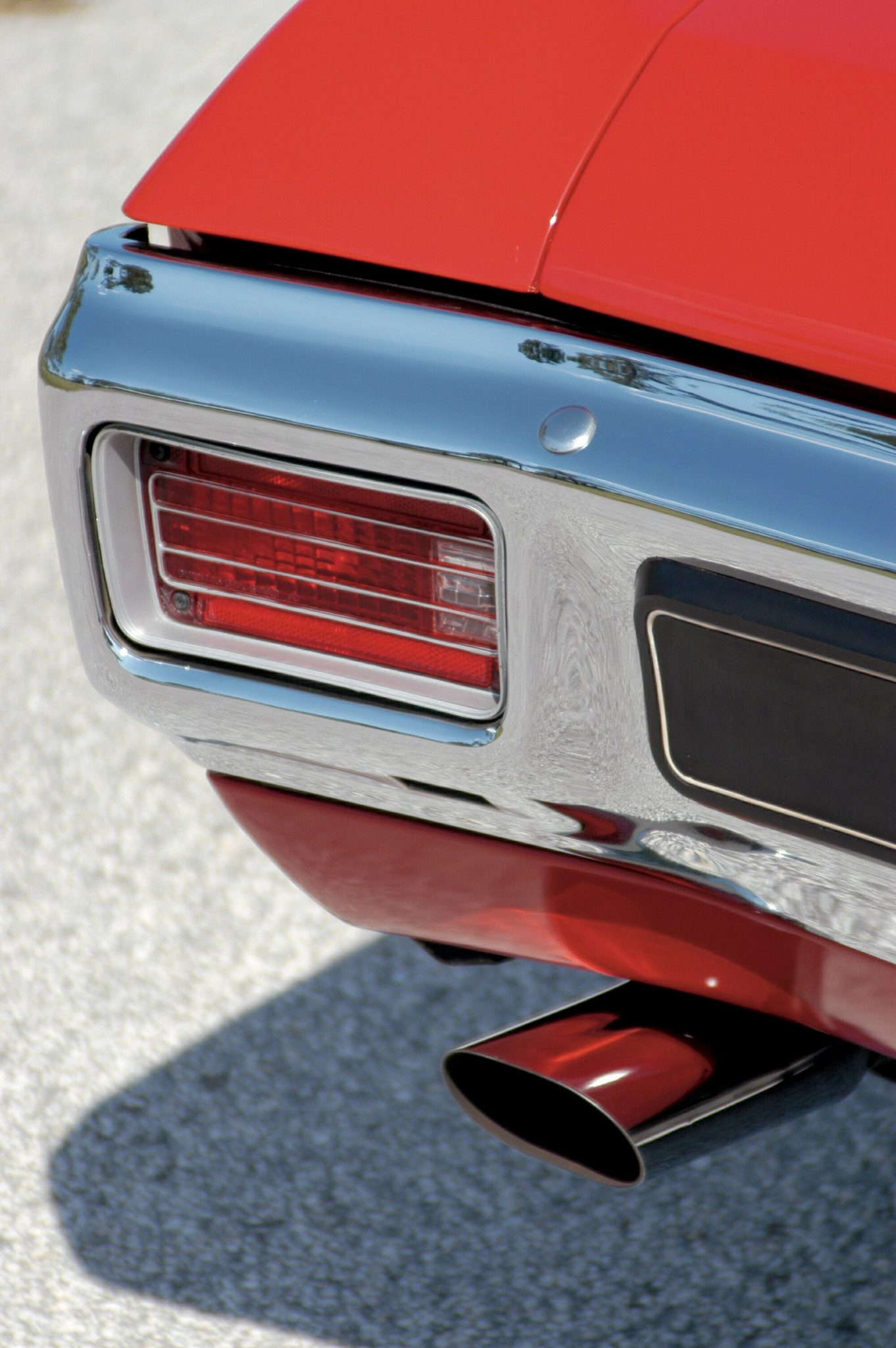 1970 Chevelle LS6 Tail Light Close Up