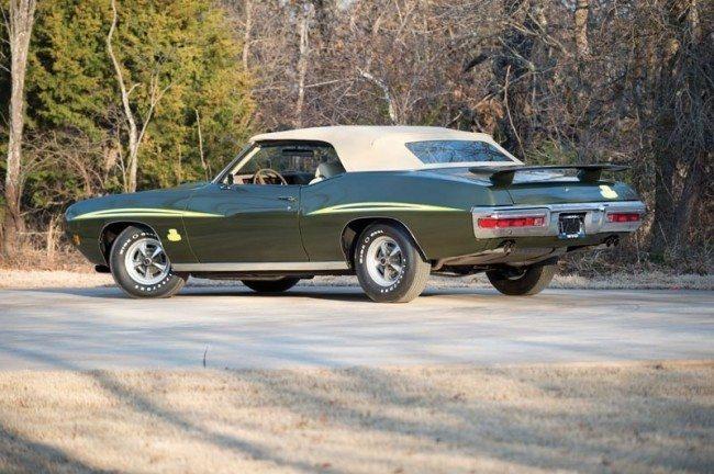 1970 GTO Judge 4 rear