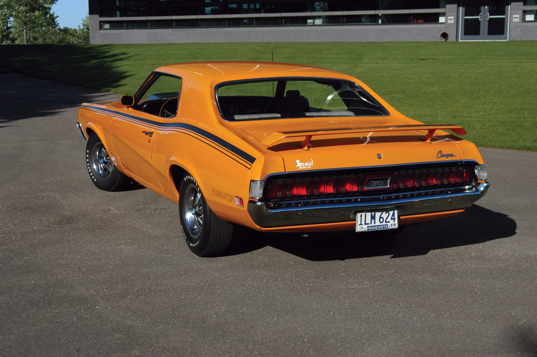 1970 Mercury Cougar Eliminator Rear
