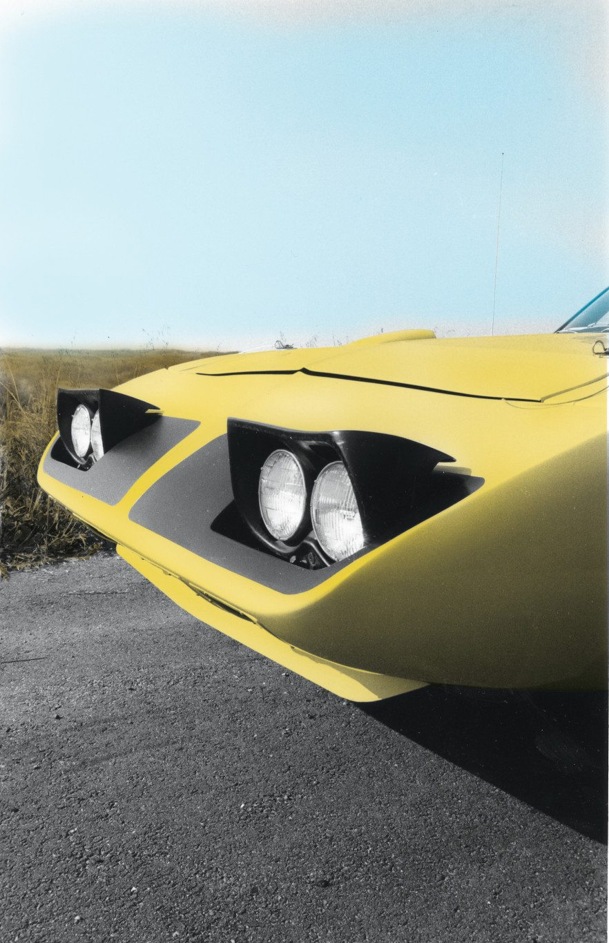 1970 Plymouth Roadrunner Superbird Pop-up Headlights