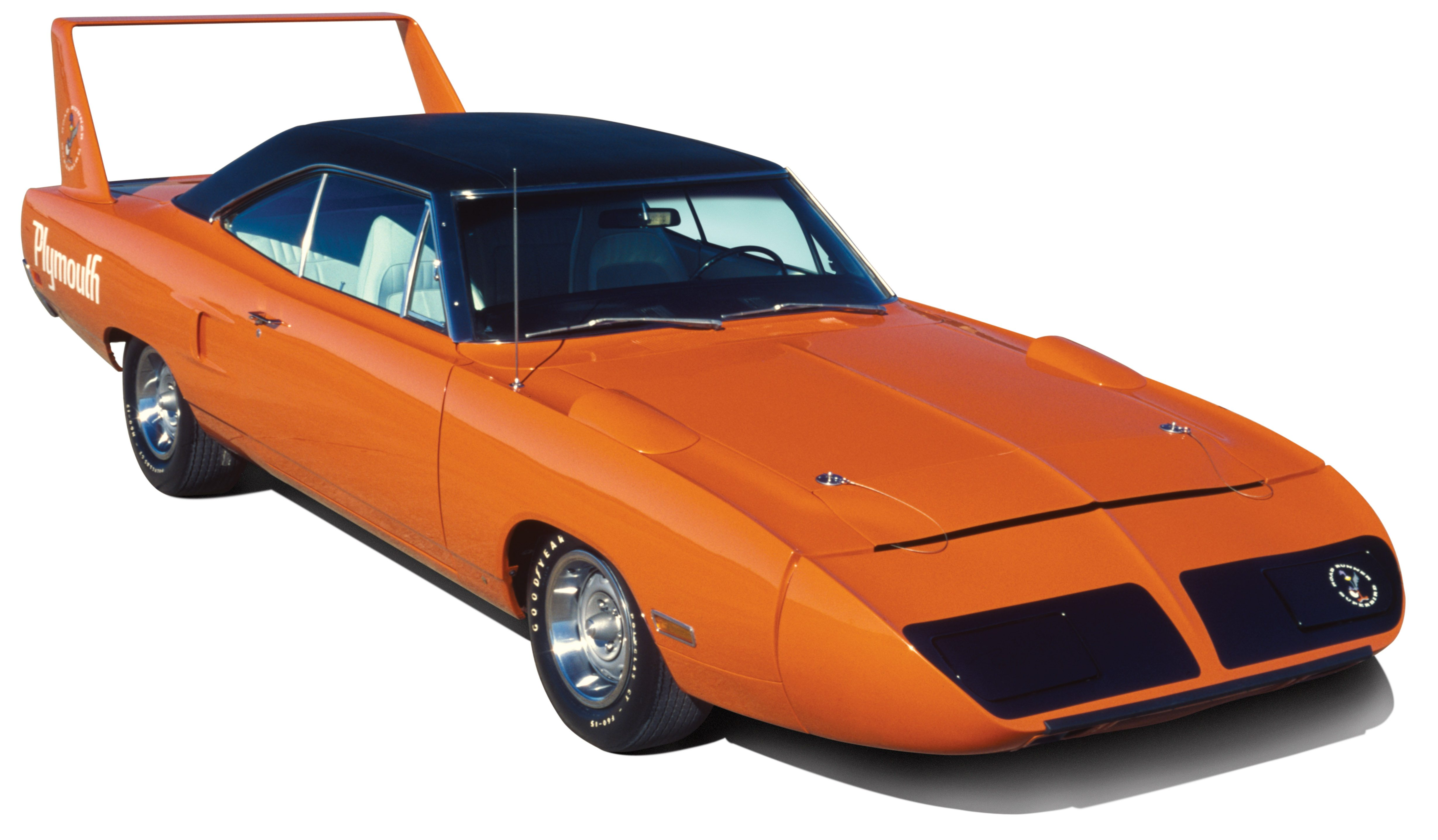 "Our feature car was originally delivered to a Wisconsin dealership where it probably served as a demo for a short time before its nosecone was smashed. The Superbird was placed behind the dealership and then became a parts donor. It lost a few parts before a Minnesota resident bought it and placed the ""winged warrior"" in long-term storage. As a result, the rare Hemi-powered Plymouth accumulated less than 100 miles since new."