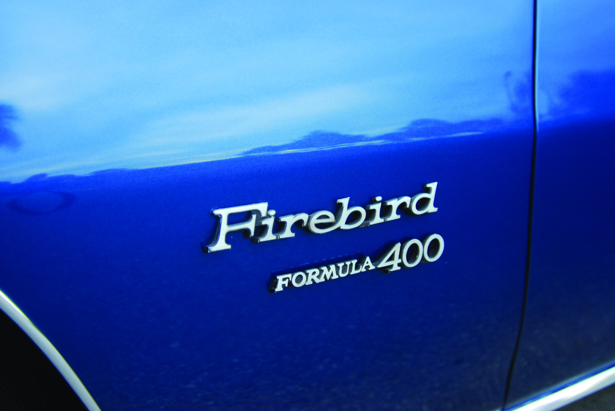 1970 Pontiac Firebird Formula 400 Fender Badge
