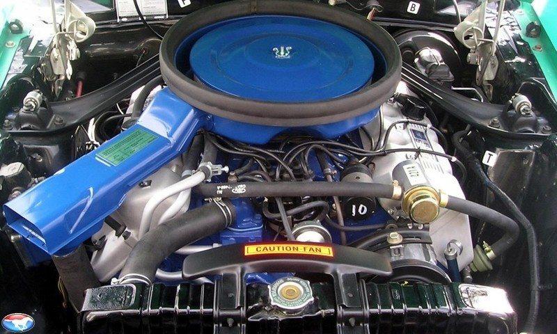 1970FordMustangBoss429Engine