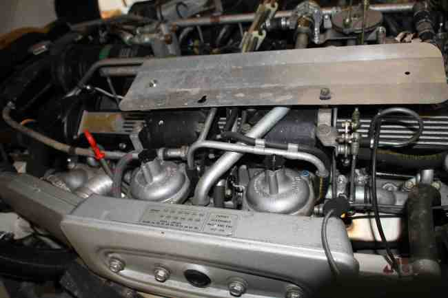 1972 Jaguar E-Type V12 Roadster Engine