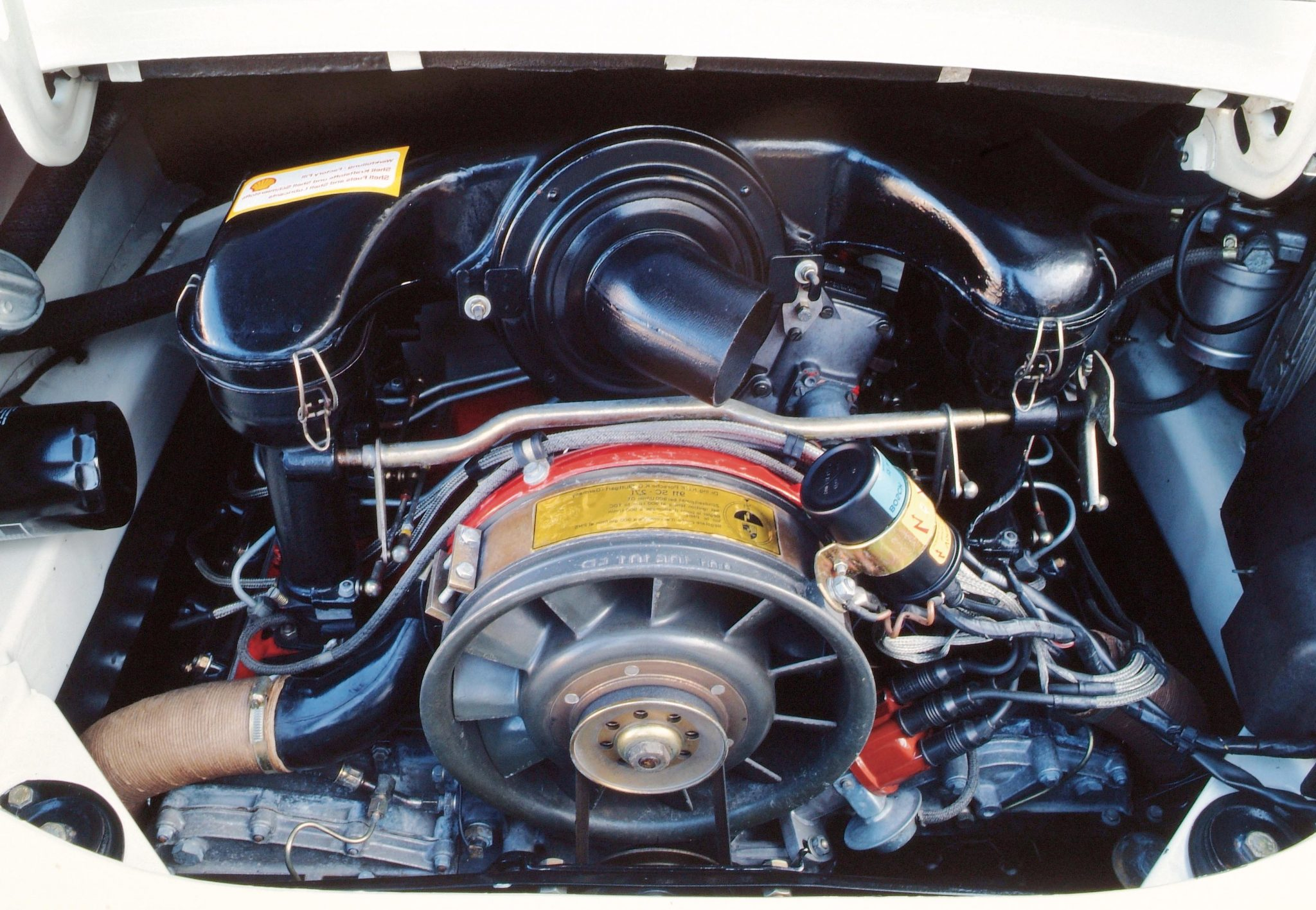 1973-Porsche-Carrera-RS-2.7-Flat-Six-Engine