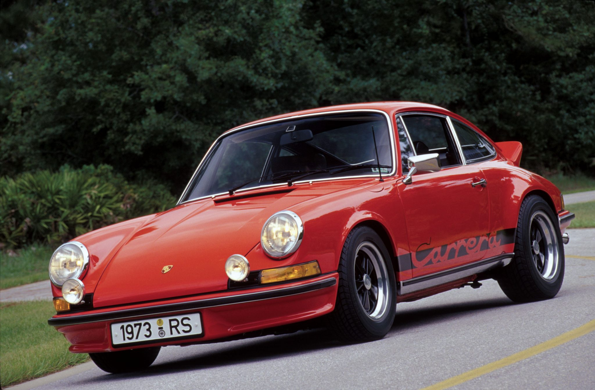 1973 porsche carrera rs 2 7 the ultimate classic 911. Black Bedroom Furniture Sets. Home Design Ideas