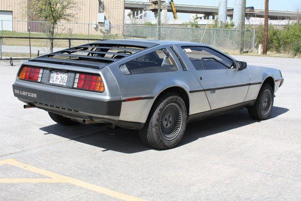 1981 DeLorean 5 rear