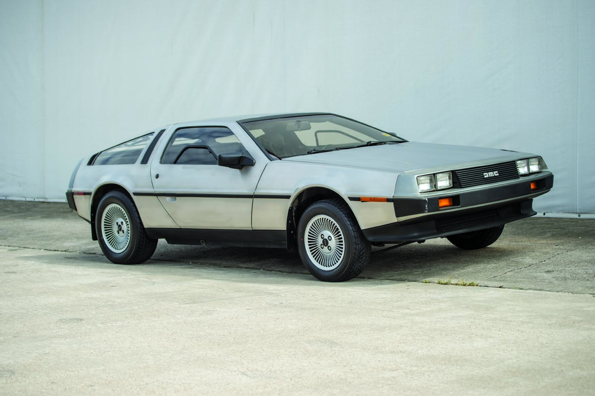 1981 delorean dmc 12 gullwing coupe heacock classic insurance
