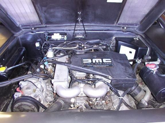 1981 Delorean 3 engine