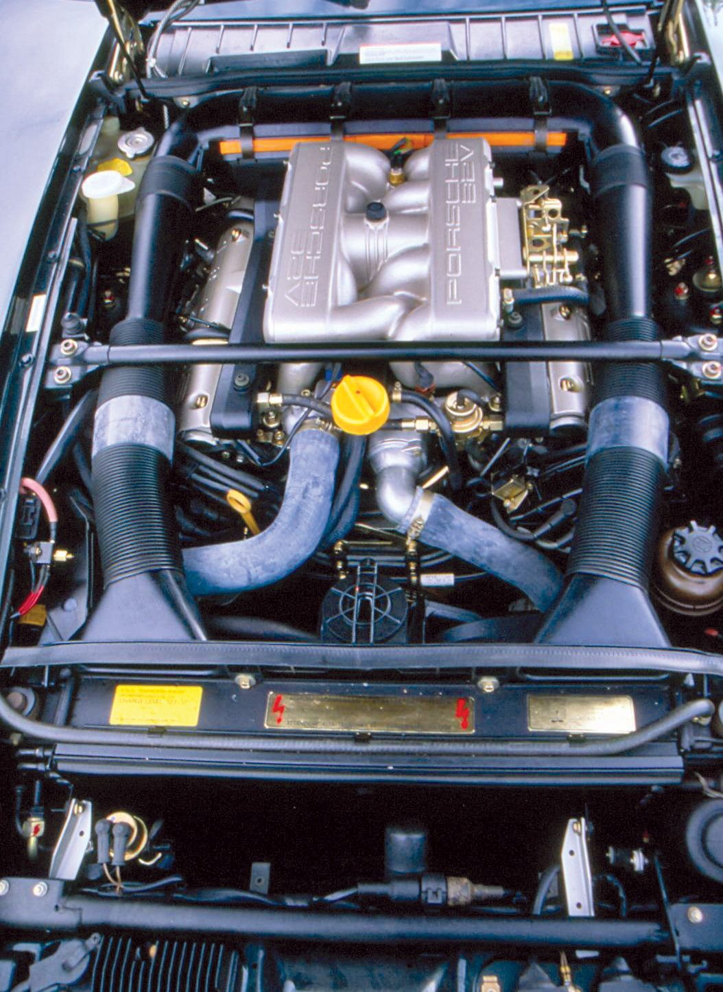 The Front Engine Porsches Heacock Classic Insurance Parts Diagram Ford 5 4l V8 In 1985 A 50 Liter 32 Valve Double Overhead Cam With 288 Horsepower Replaced Original