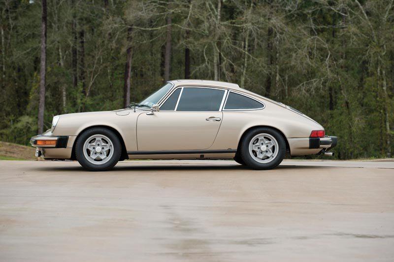 1976 Porsche 912E Coupe Side View
