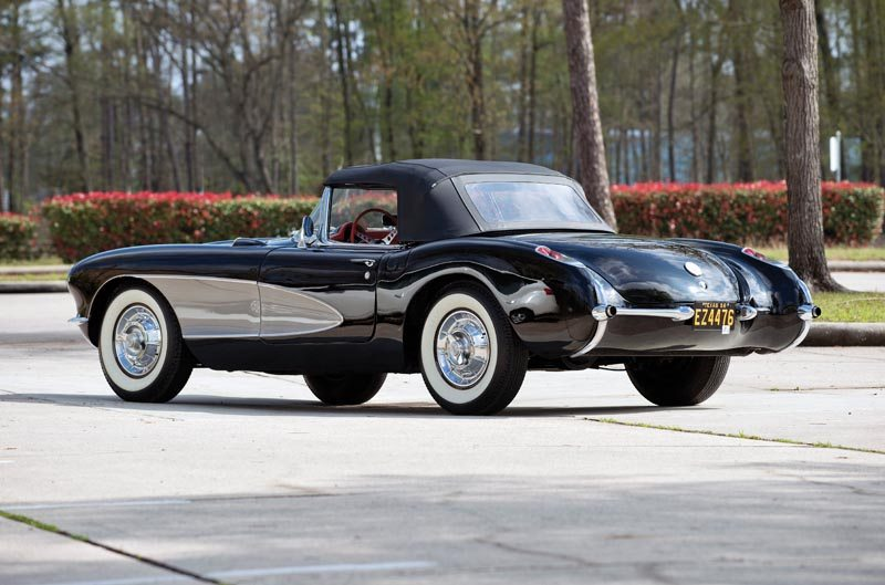 1956 Chevrolet Corvette Roadster Top Up