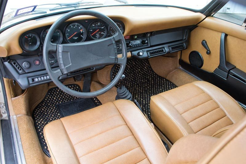 1976 Porsche 912E Coupe Interior