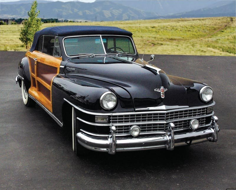1948 Chrysler Town and Country Convertible Coupe