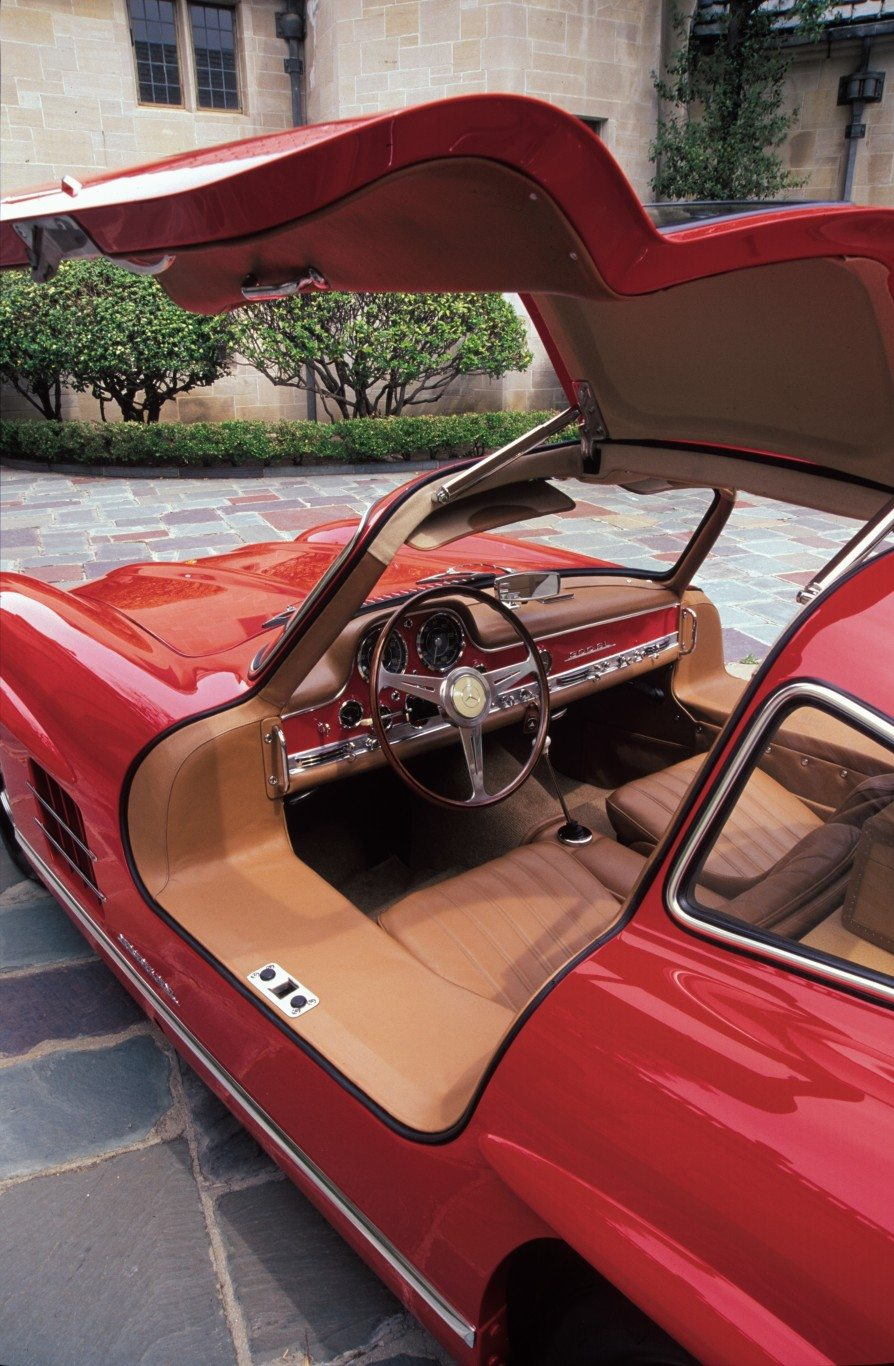 300sl Gullwing Coupe Interior