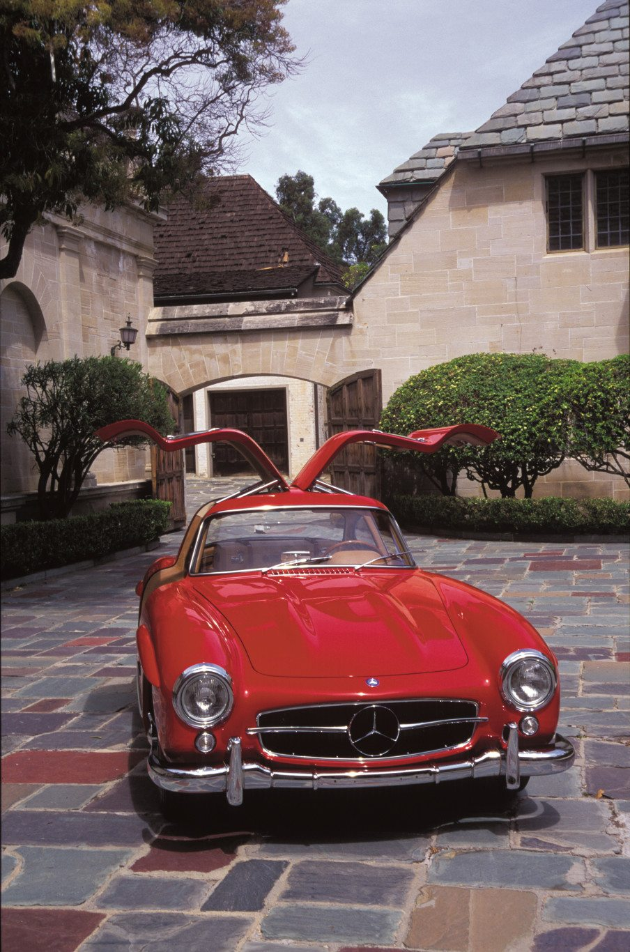 300sl Gullwing Doors Open