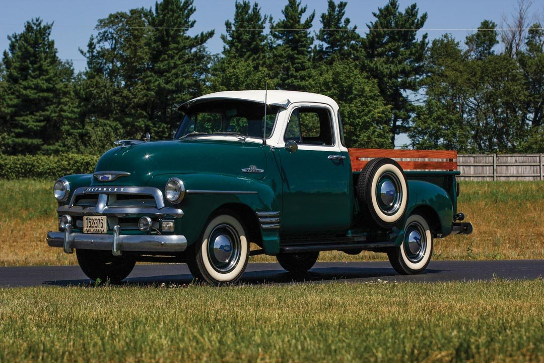 1955 chevrolet 3100 5 window pickup truck heacock