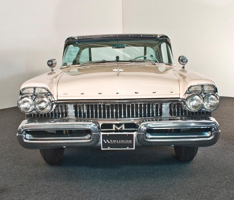 1957 Mercury Turnpike Cruiser Hardtop Front View and Grill