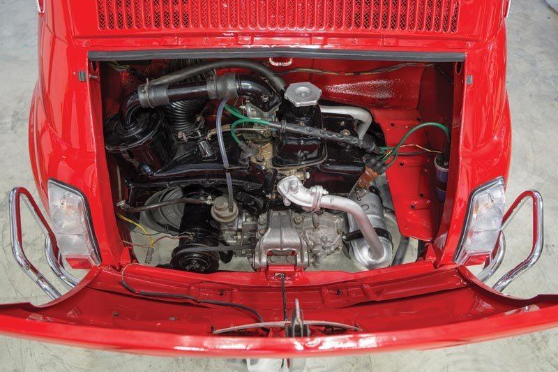 1972 Fiat 500L Engine