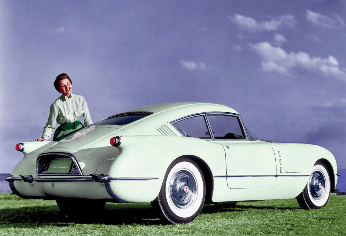 50s Chevrolet Corvair Concept