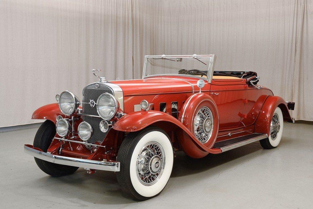 1931 Cadillac V 12 370 A Convertible Coupe Heacock