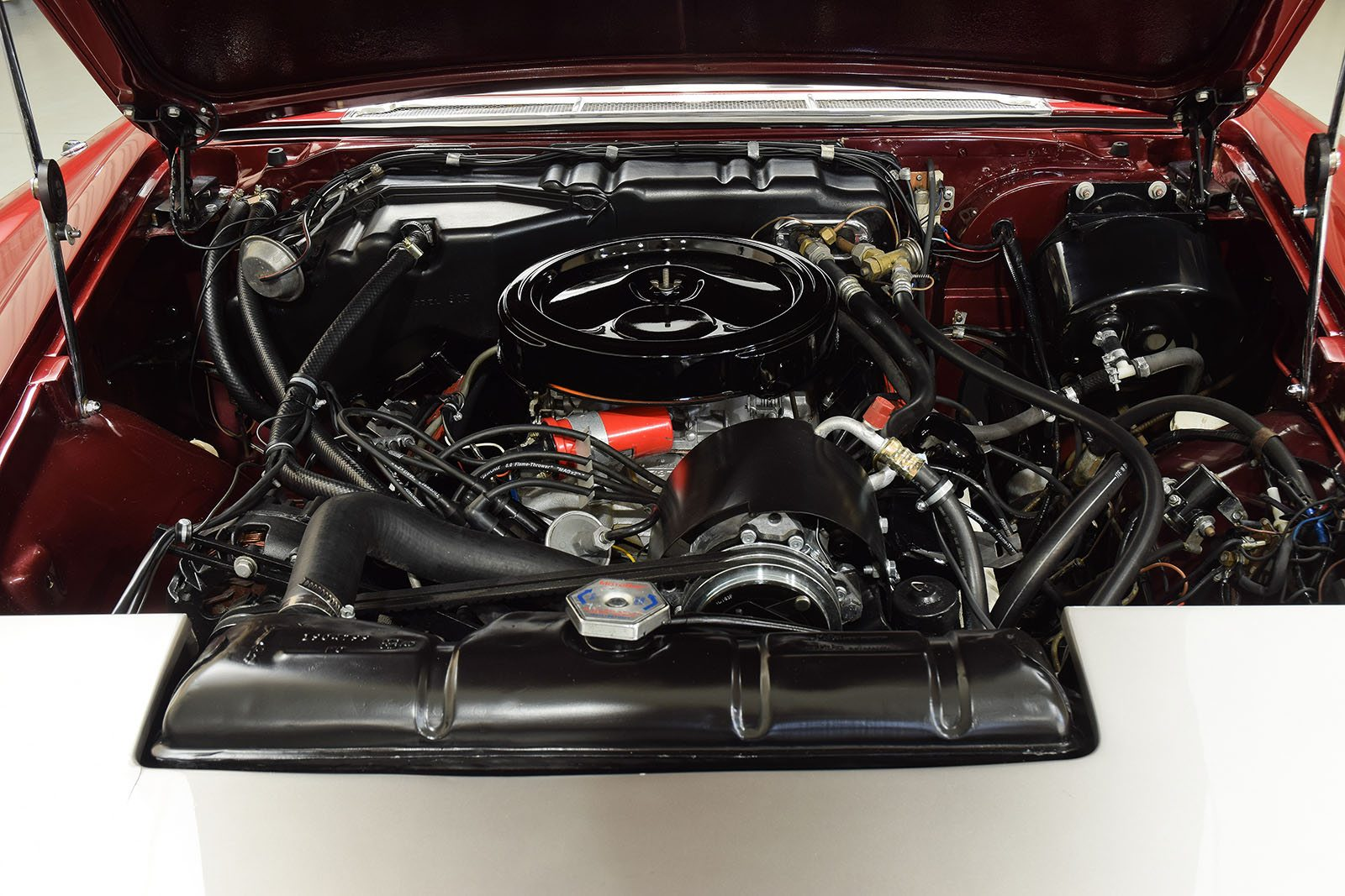 1963 Ghia L6.4 Coupe engine