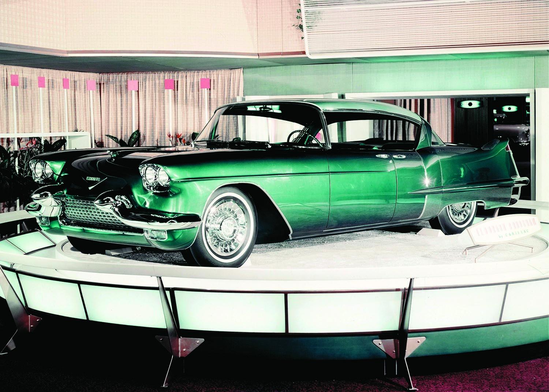 1957-58 Cadillac Eldorado Green