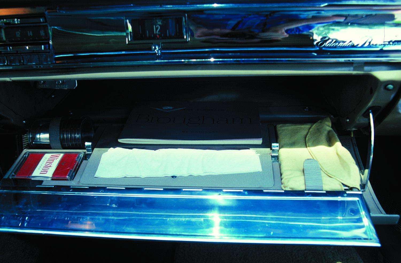 1957-58 Cadillac Eldorado Glovebox Cigarettes