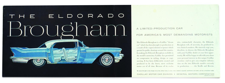 1957-58 Cadillac Eldorado Brougham
